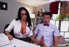 Cam do sexo professora trepando com o aluno gostoso